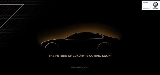 G11 BMW 7 Series teaser Malaysia