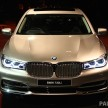 G11 BMW 730Li Launch 1