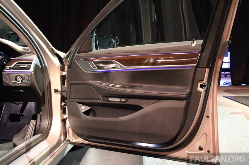 New G11 BMW 7 Series launched in Malaysia – 2.0 turbo 4cyl 730Li and 740Li, from RM599k Image #436264