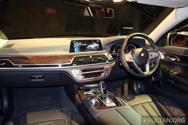 G11 BMW 730Li Launch 13