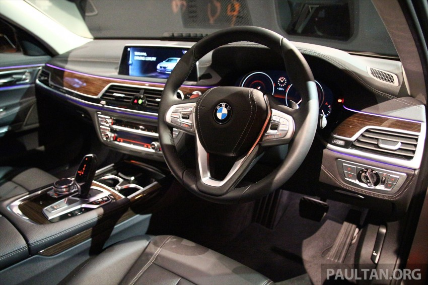 New G11 BMW 7 Series launched in Malaysia – 2.0 turbo 4cyl 730Li and 740Li, from RM599k Image #436268
