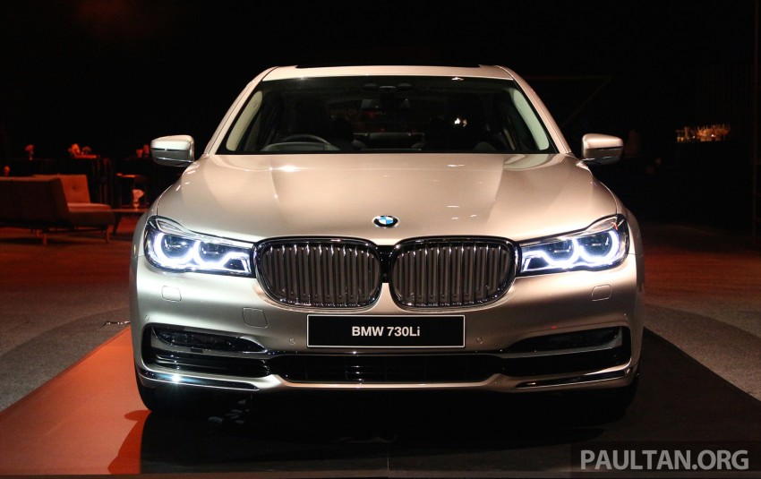 New G11 BMW 7 Series launched in Malaysia – 2.0 turbo 4cyl 730Li and 740Li, from RM599k Image #436257