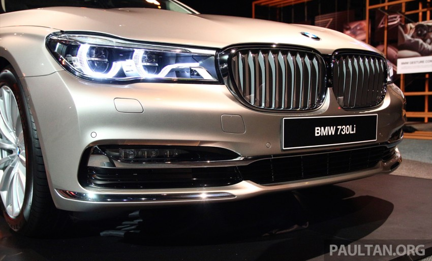 New G11 BMW 7 Series launched in Malaysia – 2.0 turbo 4cyl 730Li and 740Li, from RM599k Image #436259