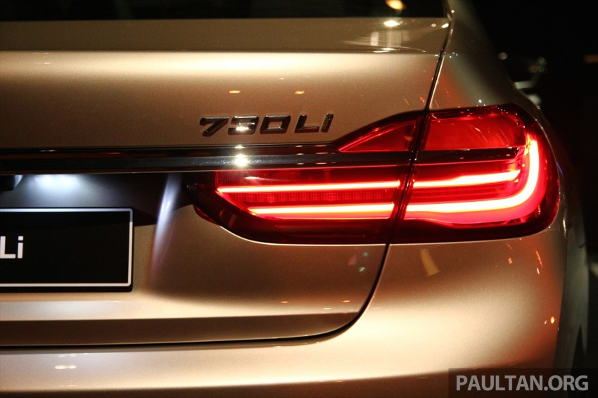 New G11 BMW 7 Series launched in Malaysia – 2.0 turbo 4cyl 730Li and 740Li, from RM599k Image #436261