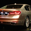 G11 BMW 730Li Launch 8