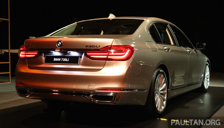 New G11 BMW 7 Series launched in Malaysia – 2.0 turbo 4cyl 730Li and 740Li, from RM599k Image #436262