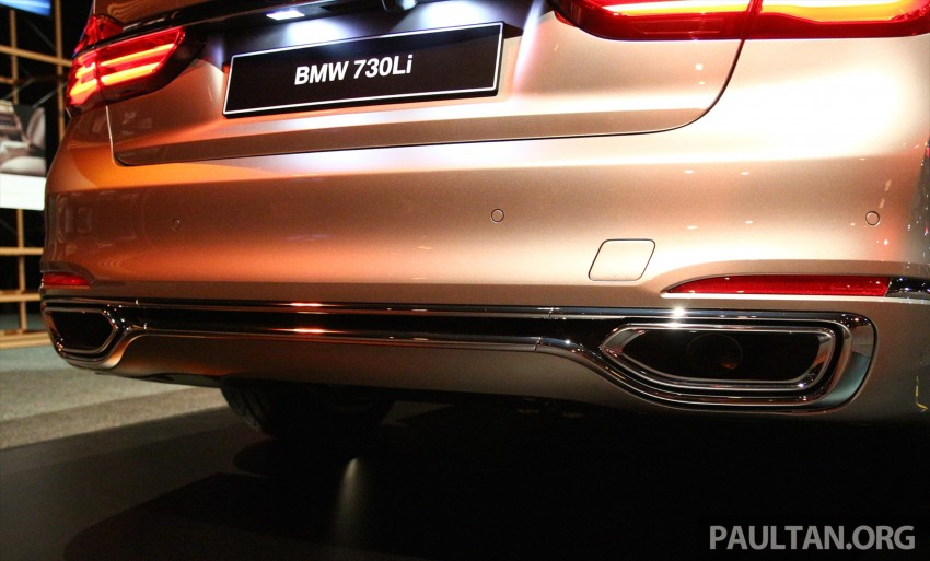New G11 BMW 7 Series launched in Malaysia – 2.0 turbo 4cyl 730Li and 740Li, from RM599k Image #436263