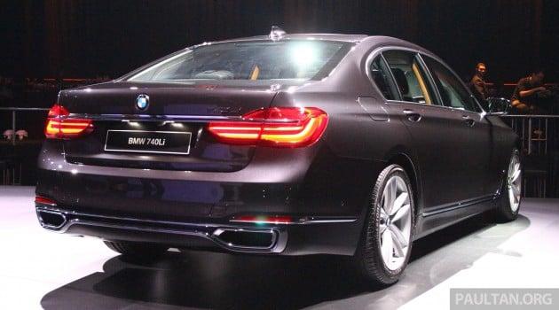 G11 BMW 740Li Launch 14