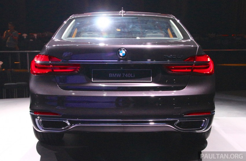 New G11 BMW 7 Series launched in Malaysia – 2.0 turbo 4cyl 730Li and 740Li, from RM599k Image #436169