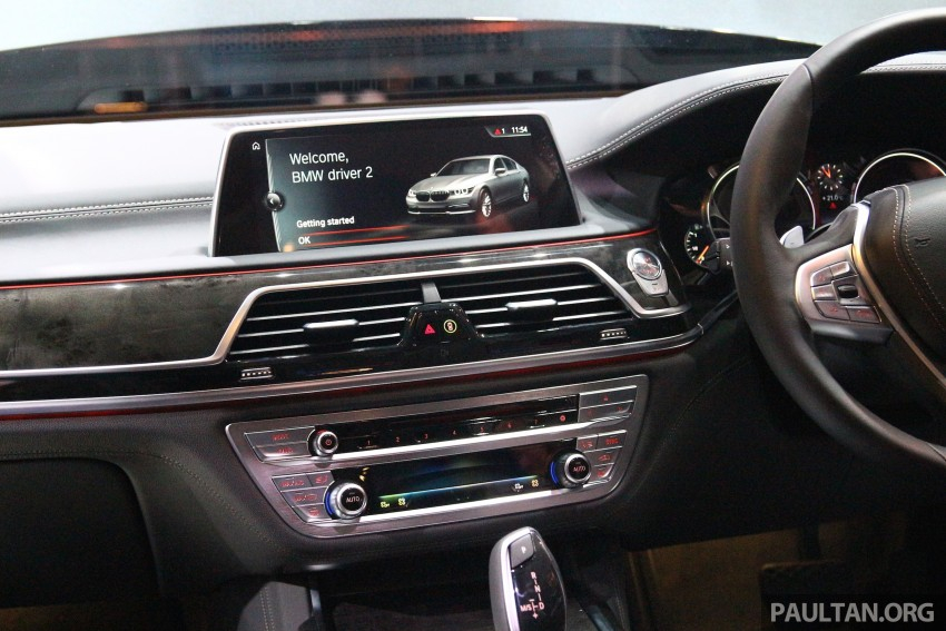 New G11 BMW 7 Series launched in Malaysia – 2.0 turbo 4cyl 730Li and 740Li, from RM599k Image #436187