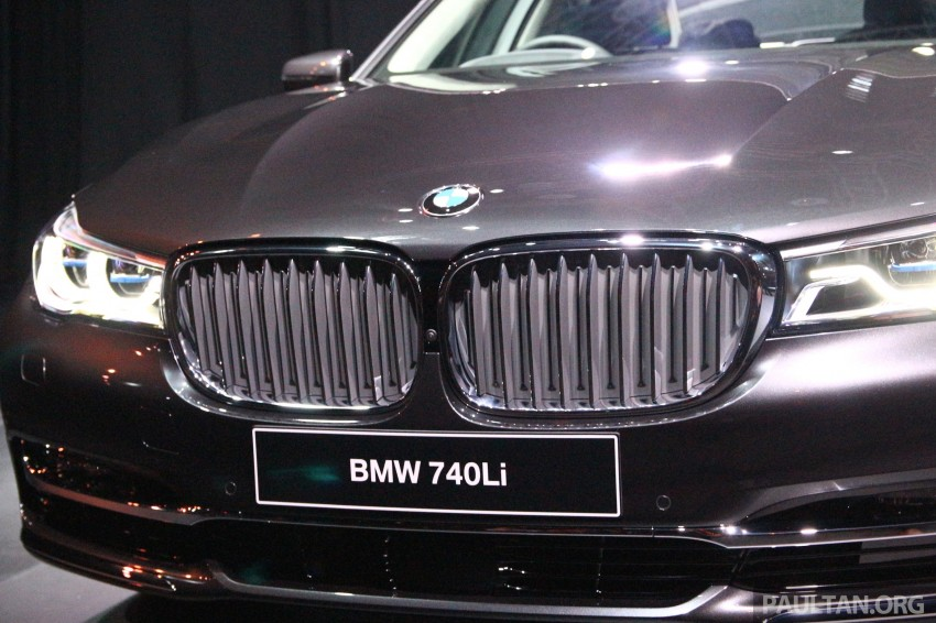 New G11 BMW 7 Series launched in Malaysia – 2.0 turbo 4cyl 730Li and 740Li, from RM599k Image #436155