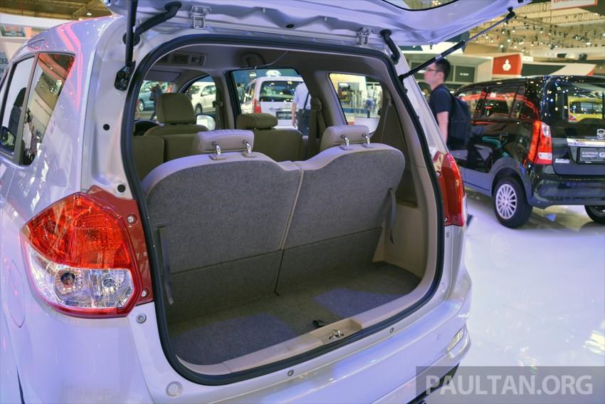 Proton bakal rebadge Suzuki Ertiga MPV – kit CKD didatangkan dari Indonesia, bermula Q2 2016 Image #433304