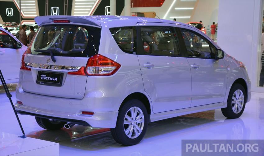 Proton bakal rebadge Suzuki Ertiga MPV – kit CKD didatangkan dari Indonesia, bermula Q2 2016 Image #433293