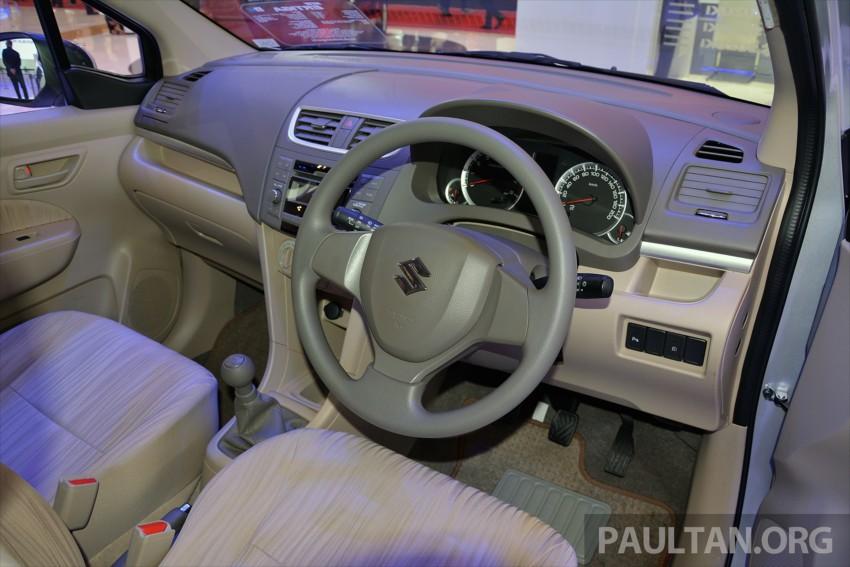 Proton bakal rebadge Suzuki Ertiga MPV – kit CKD didatangkan dari Indonesia, bermula Q2 2016 Image #433295