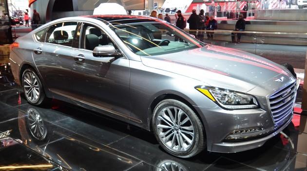 Hyundai Genesis Joins New Premium Brand As The G80