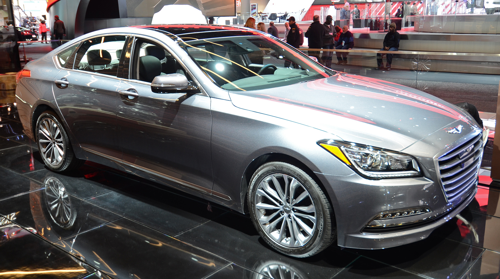 Hyundai Genesis Joins New Premium Brand As The G80