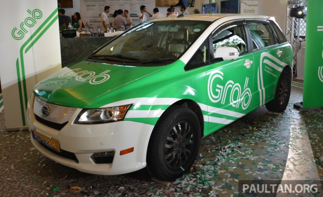 Grab Services Reduce The Number Of Cars In Singapore