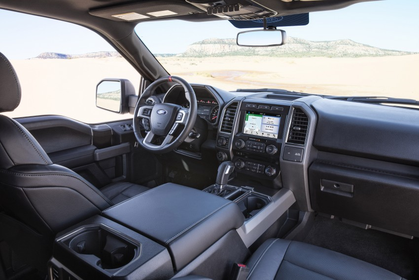 2017 Ford F-150 Raptor SuperCrew unveiled in Detroit Image #426910
