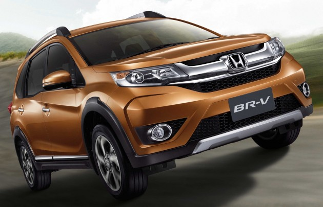 Honda BR-V Thailand launch 1