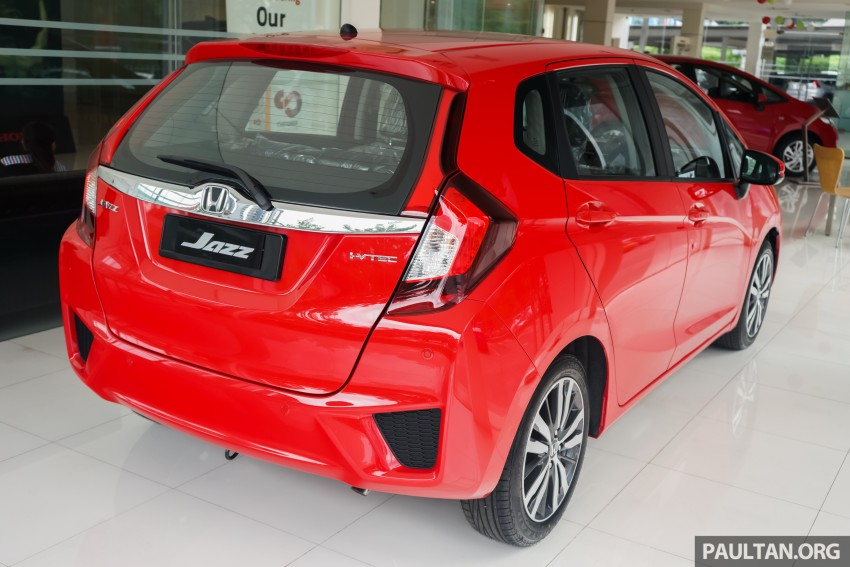 GALLERY: Honda Jazz in Carnival Red – live photos Image #426431