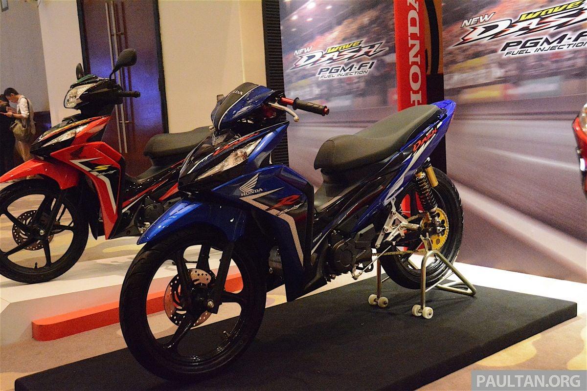 Honda Wave Dash FI dilancarkan – dari RM5,299
