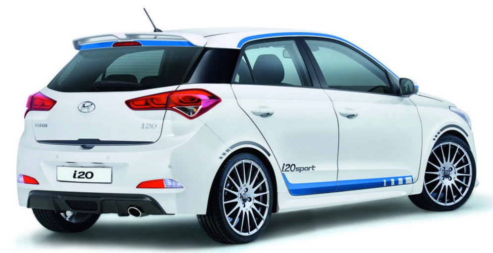 Hyundai i20 Sport for Germany, with new 1.0 litre turbo ...