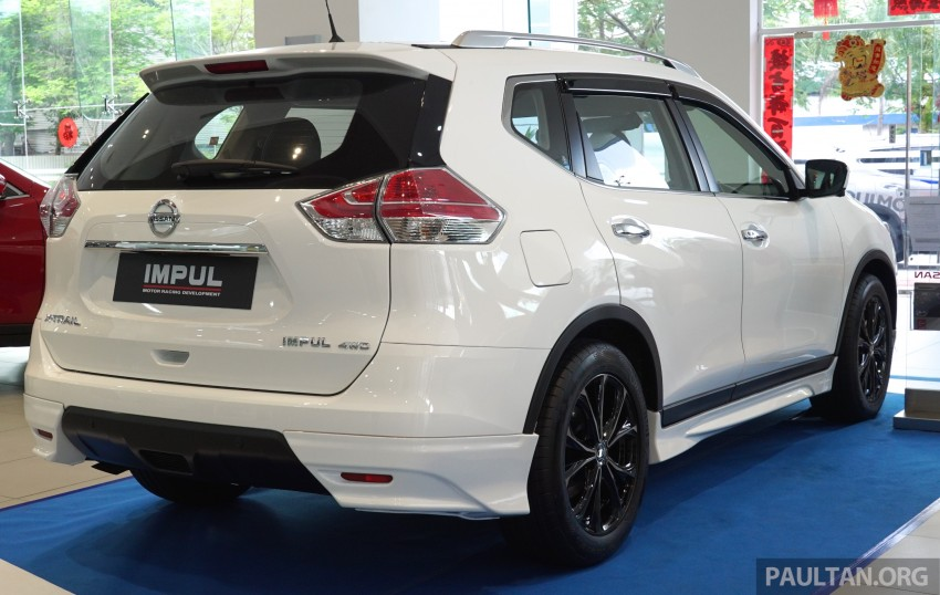 Nissan X-Trail Impul edition launched, from RM150k Image #432854