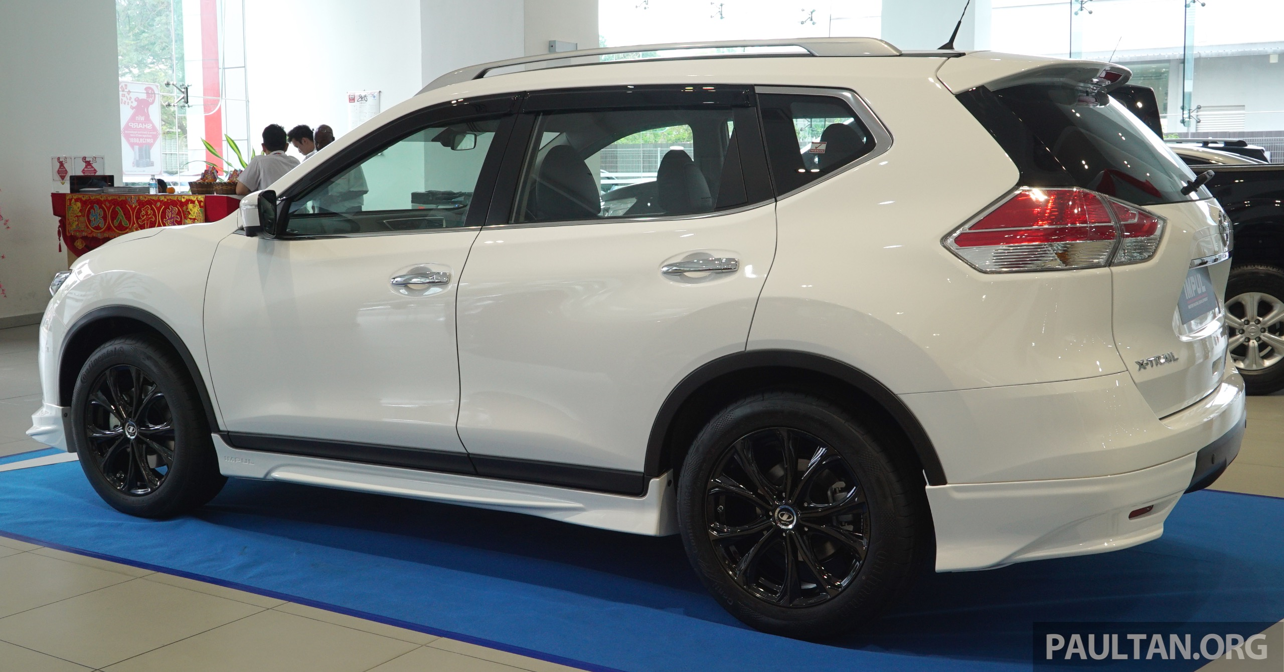 nissan x trail impul edition launched from rm150k image. Black Bedroom Furniture Sets. Home Design Ideas