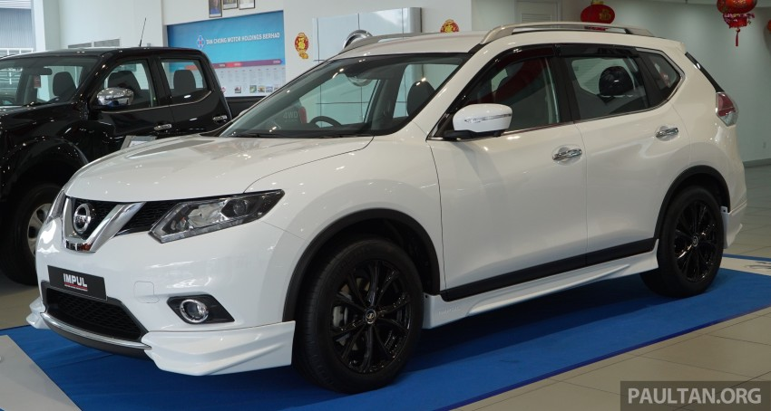 Nissan X-Trail Impul edition launched, from RM150k Image #432861