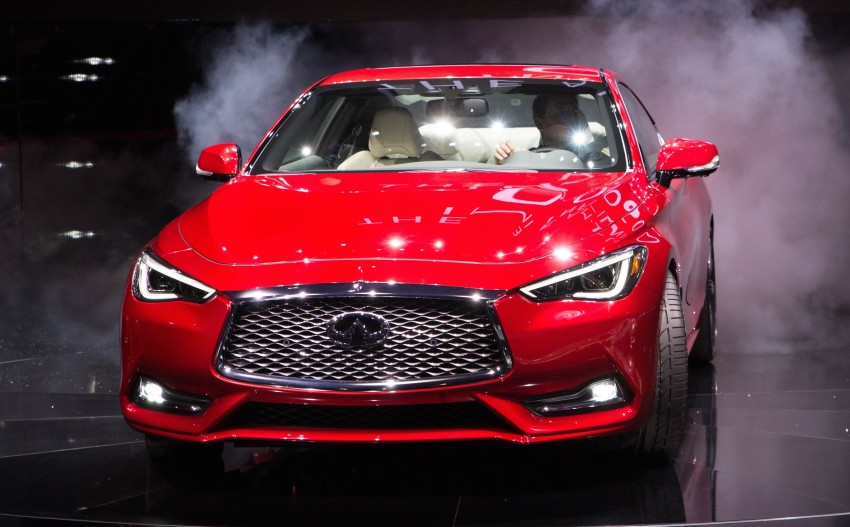 2017 Infiniti Q60 coupe finally goes live in Detroit with two VR 3.0L twin-turbo V6 engines – 300 hp/400 hp Image #427474