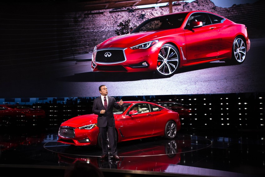 2017 Infiniti Q60 coupe finally goes live in Detroit with two VR 3.0L twin-turbo V6 engines – 300 hp/400 hp Image #427475