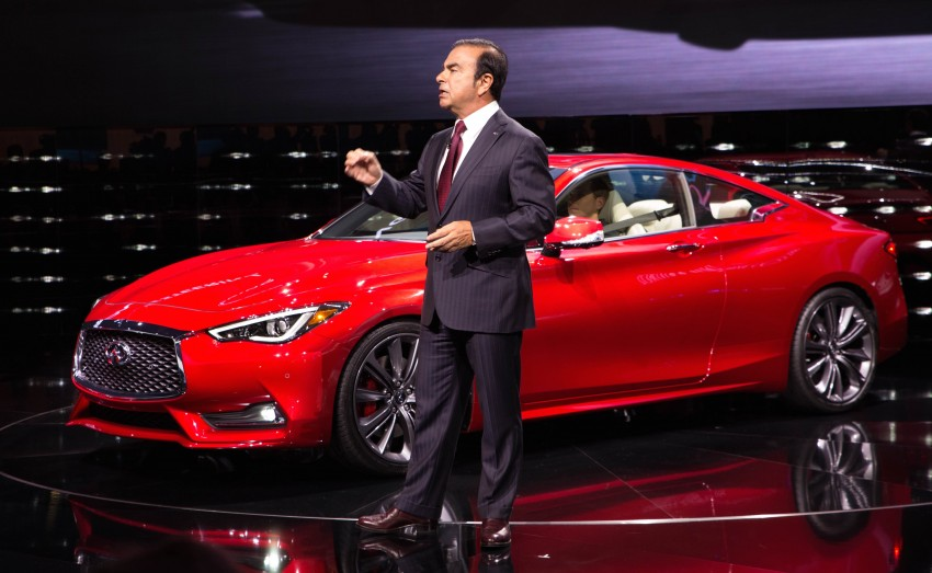 2017 Infiniti Q60 coupe finally goes live in Detroit with two VR 3.0L twin-turbo V6 engines – 300 hp/400 hp Image #427476
