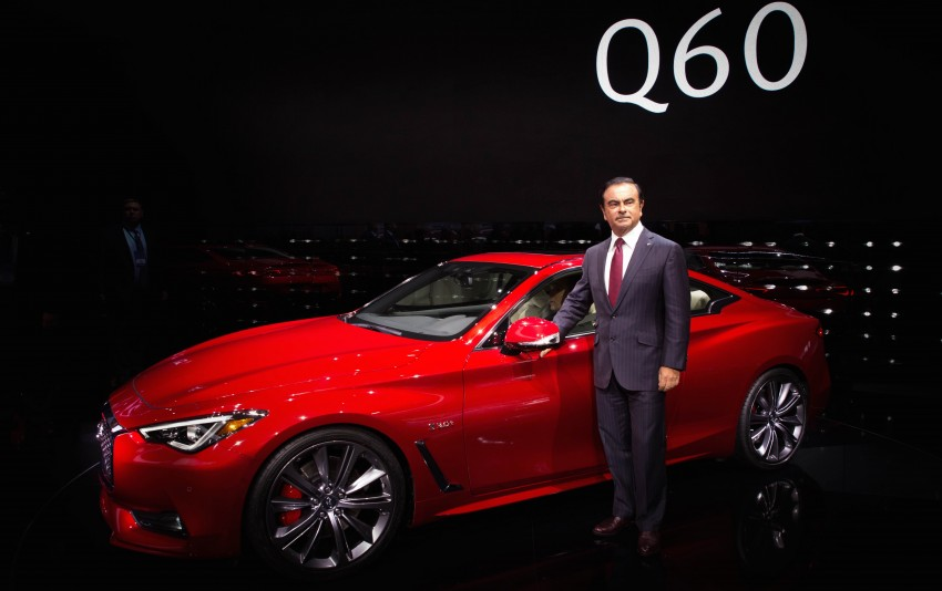 2017 Infiniti Q60 coupe finally goes live in Detroit with two VR 3.0L twin-turbo V6 engines – 300 hp/400 hp Image #427477