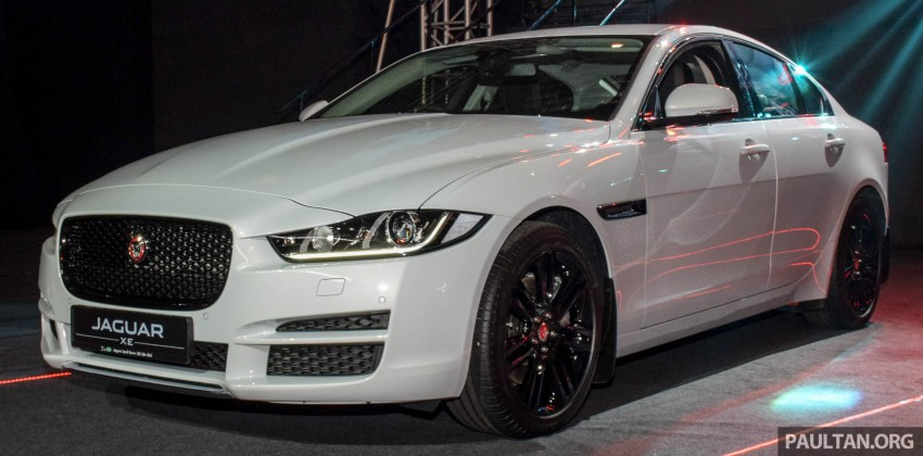 Jaguar XE debuts in Malaysia – 2.0, 3.0, from RM341k Image #435669