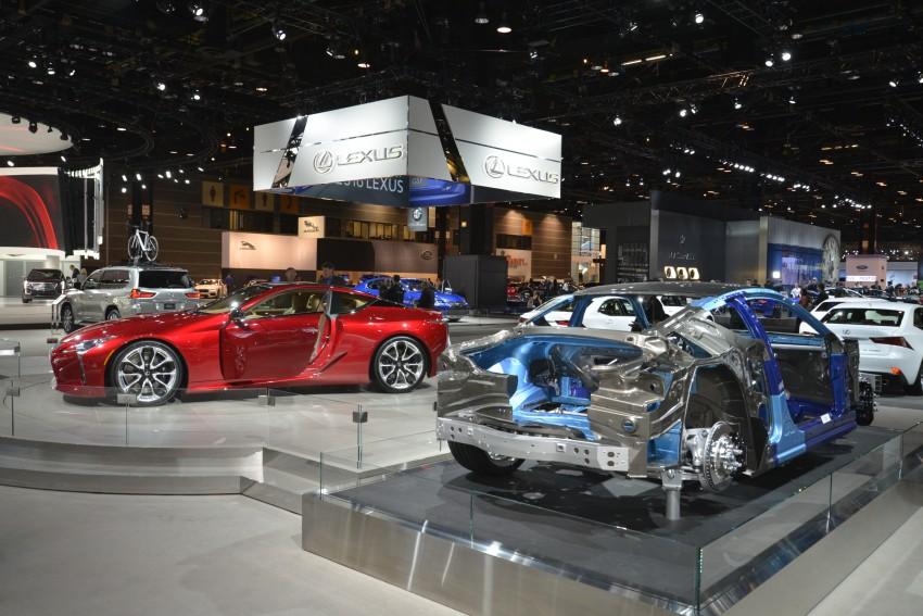 2017 Lexus LC 500 – a show car you can actually buy Image #440710
