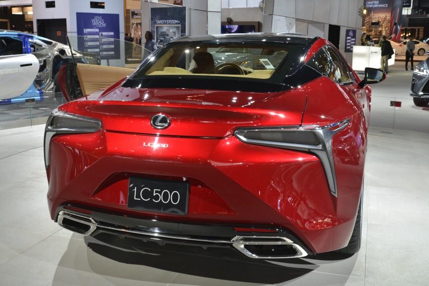 2017 Lexus LC 500 – a show car you can actually buy Image #440711