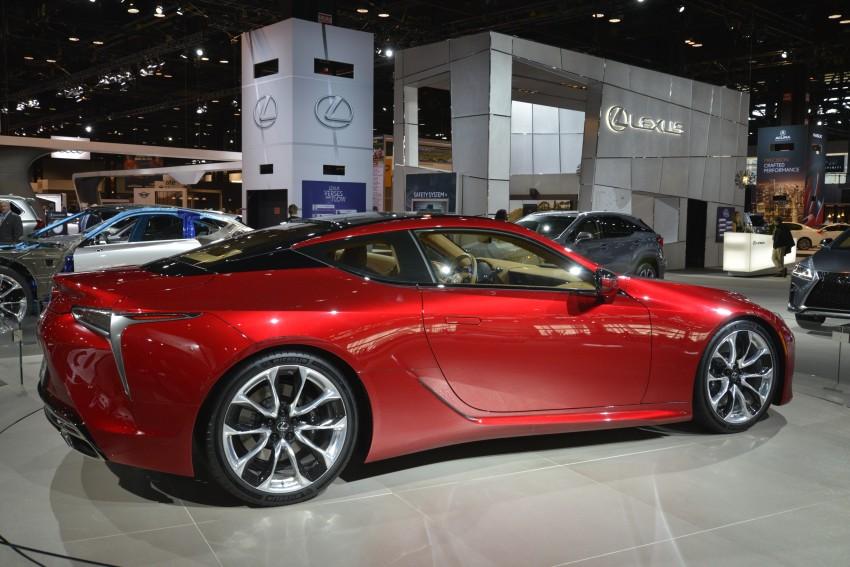 2017 Lexus LC 500 – a show car you can actually buy Image #440717