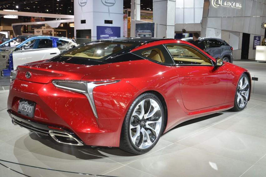 2017 Lexus LC 500 – a show car you can actually buy Image #440719