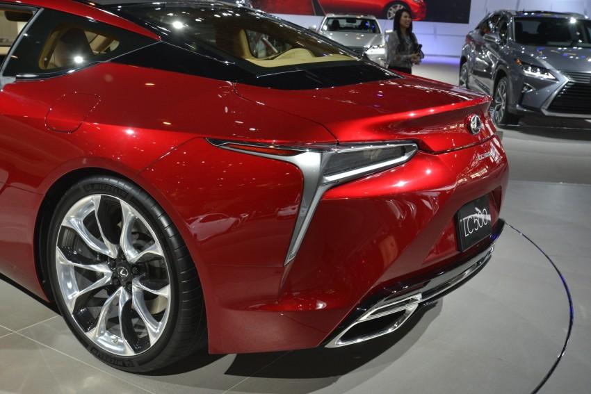 2017 Lexus LC 500 – a show car you can actually buy Image #440721