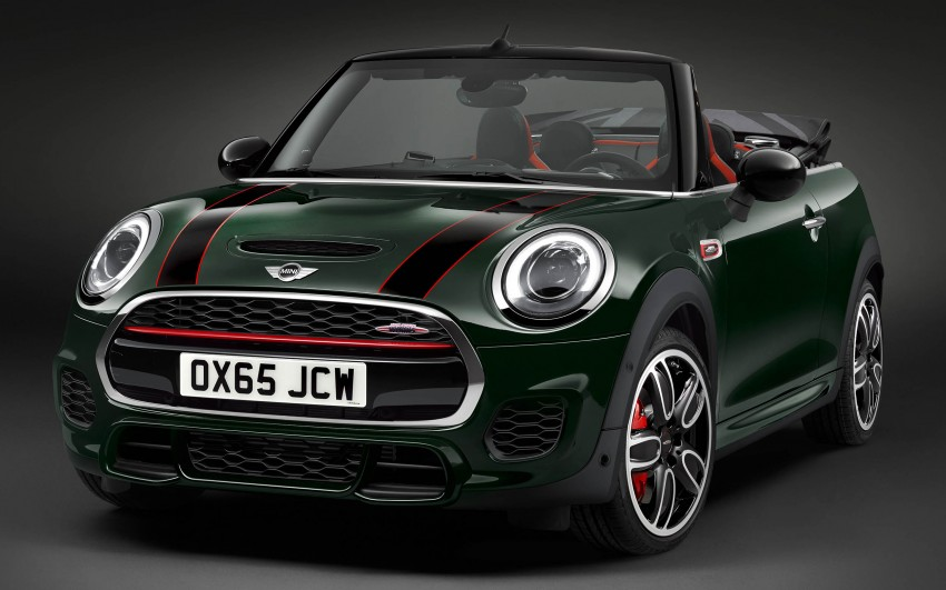mini john cooper works convertible drop top fun. Black Bedroom Furniture Sets. Home Design Ideas