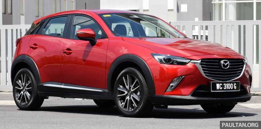 DRIVEN: Mazda CX-3 – looking at different priorities Image #433609
