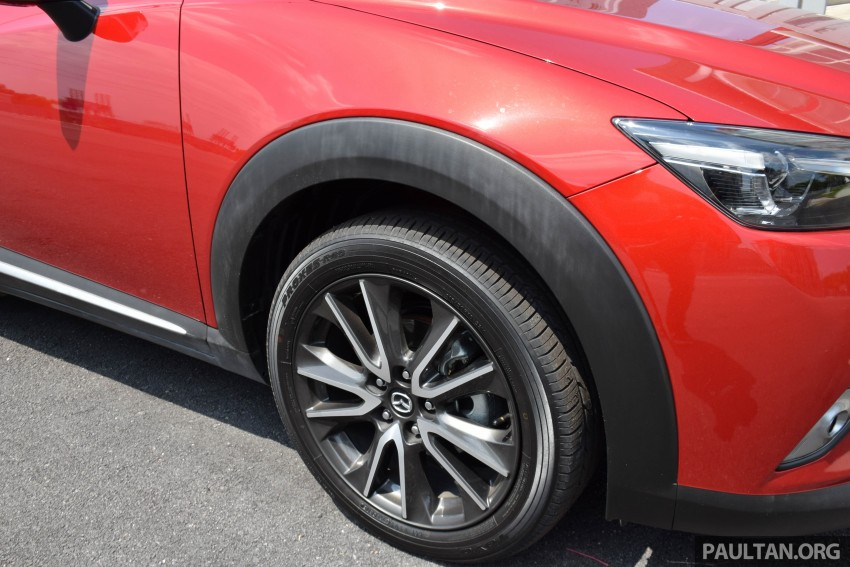 DRIVEN: Mazda CX-3 – looking at different priorities Image #433621