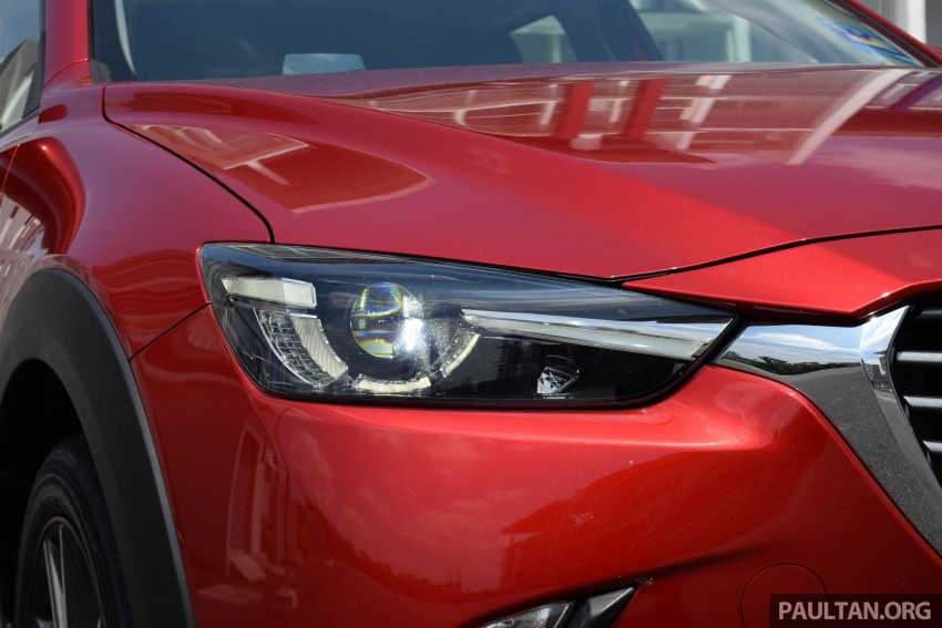 DRIVEN: Mazda CX-3 – looking at different priorities Image #433623