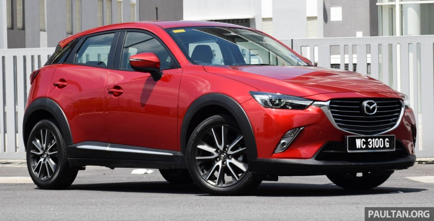 DRIVEN: Mazda CX-3 – looking at different priorities Image #433610