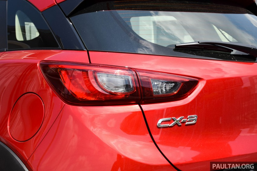 DRIVEN: Mazda CX-3 – looking at different priorities Image #433628