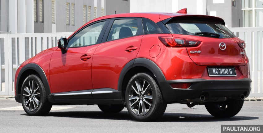 DRIVEN: Mazda CX-3 – looking at different priorities Image #433611