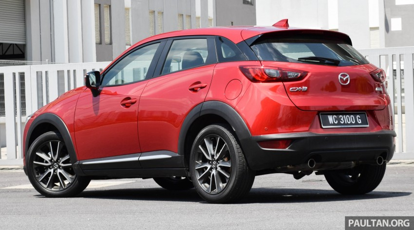 DRIVEN: Mazda CX-3 – looking at different priorities Image #433612