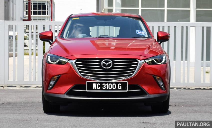 DRIVEN: Mazda CX-3 – looking at different priorities Image #433613