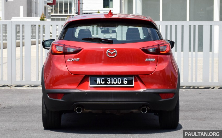 DRIVEN: Mazda CX-3 – looking at different priorities Image #433614