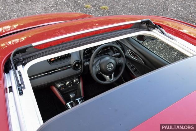 Mazda CX-3 2.0L review 69